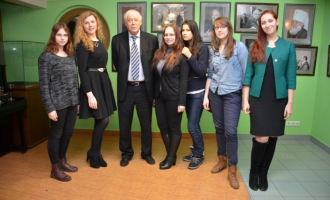 Студенты ФМП в Доме русского зарубежья